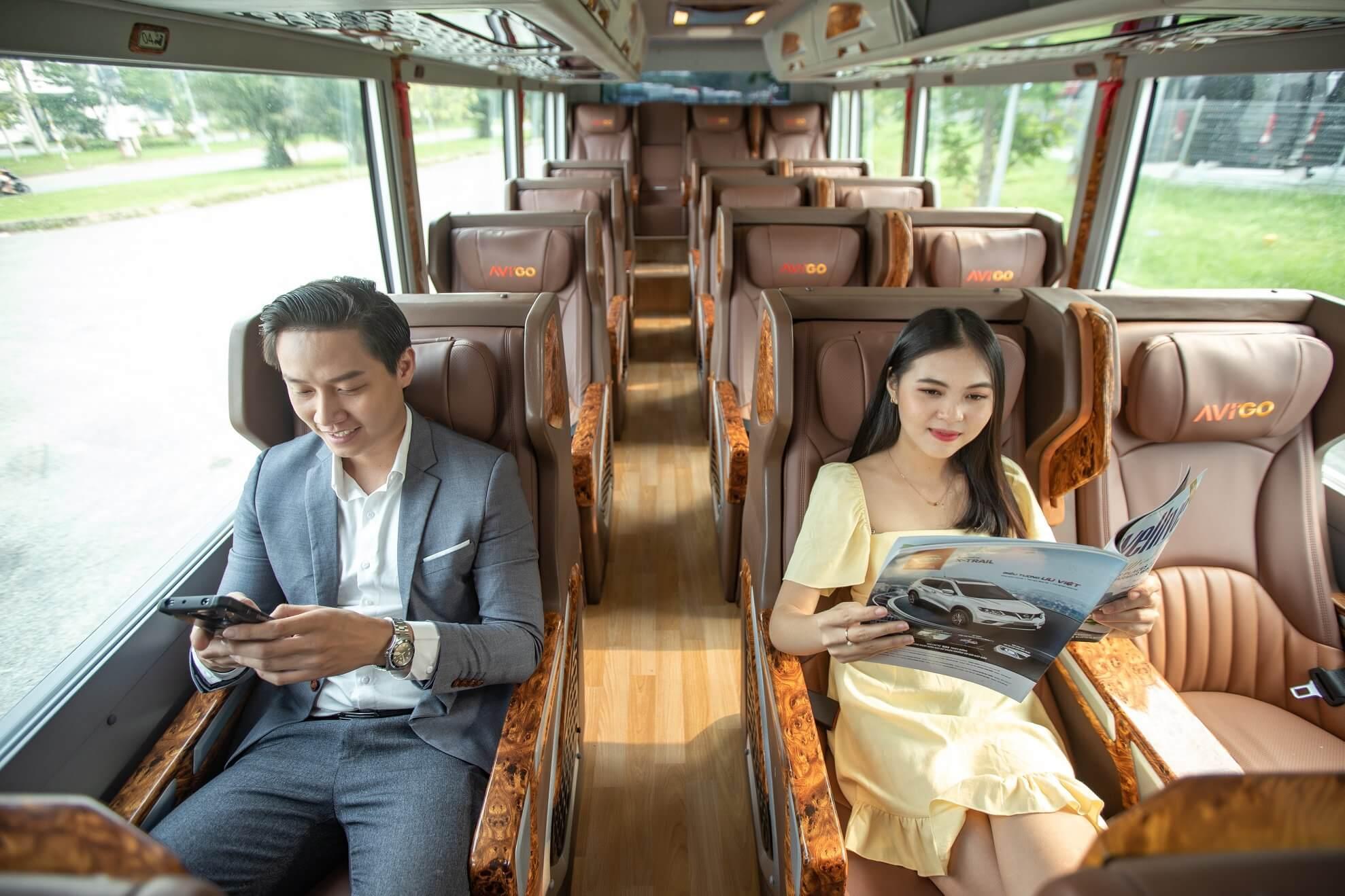 dịch vụ gọi xe buýt của grab