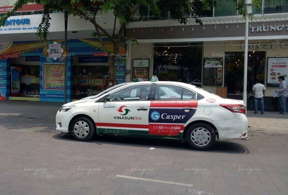 Chiến dịch quảng cáo trên taxi của Casper