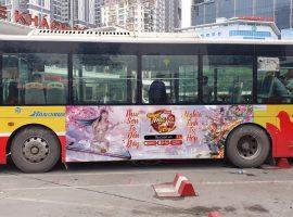 quảng cáo taxi xe buýt cho soha game