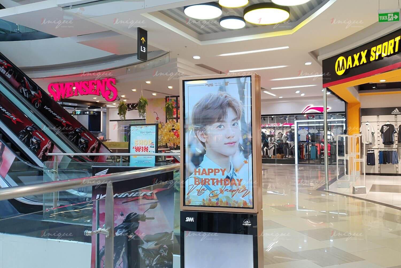 Na Jaemin quảng cáo màn hình Lcd