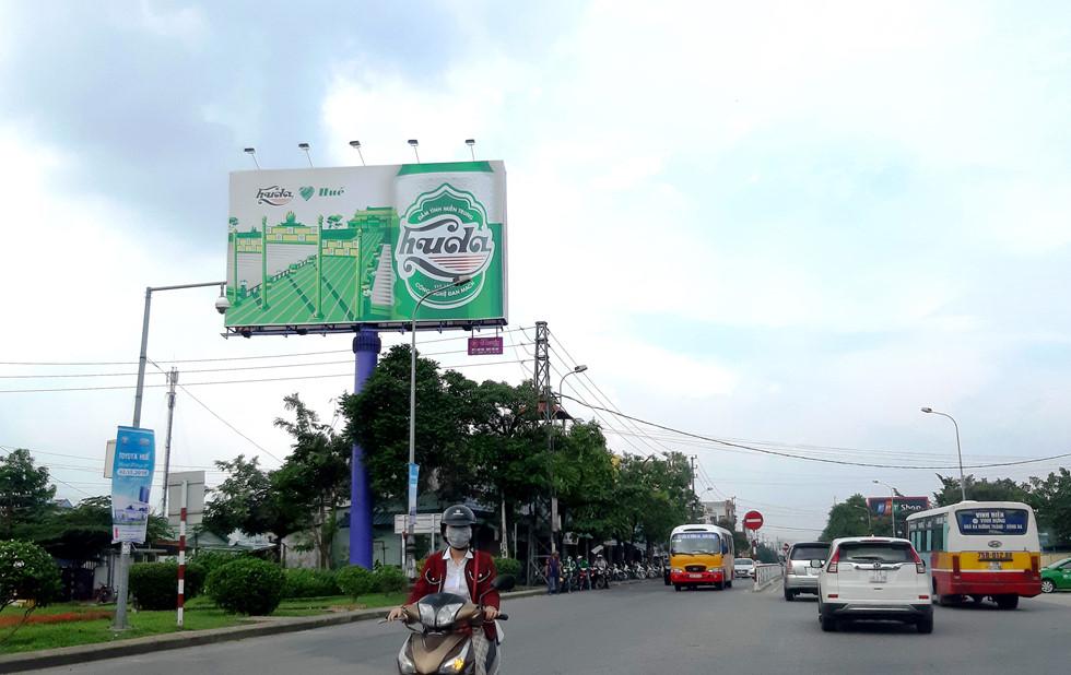 Huda sử dụng hình ảnh di sản văn hóa để quảng cáo cho bia
