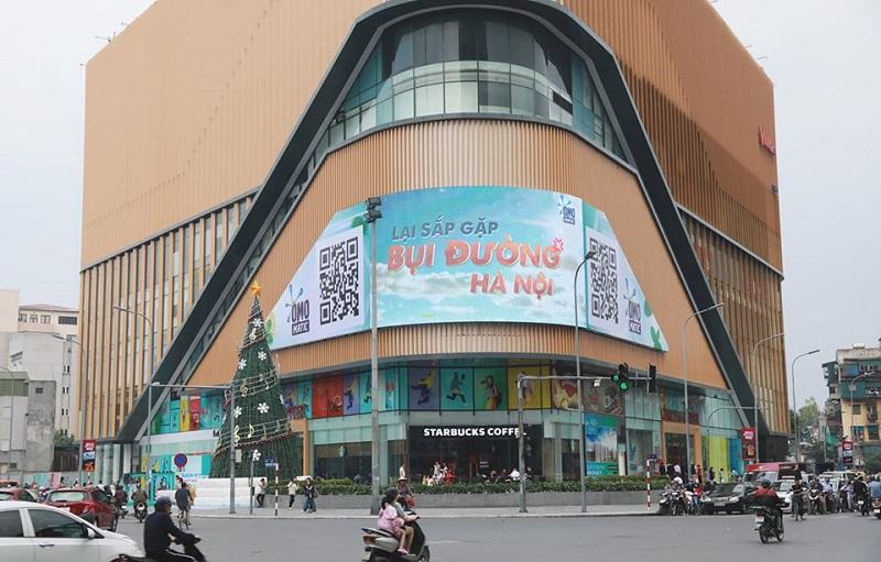Màn hình Led quảng cáo ngoài trời tại Vincom Phạm Ngọc Thạch