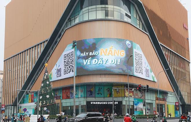 quảng cáo màn hình LED sáng tạo