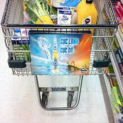 dịch vụ quảng cáo tại siêu thị