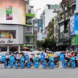 dịch vụ quảng cáo roadshow đoàn người