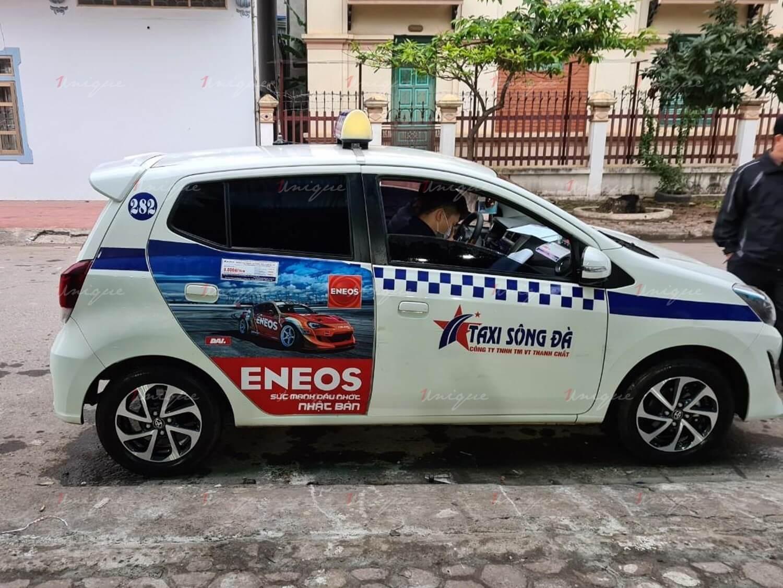 eneos quảng cáo taxi