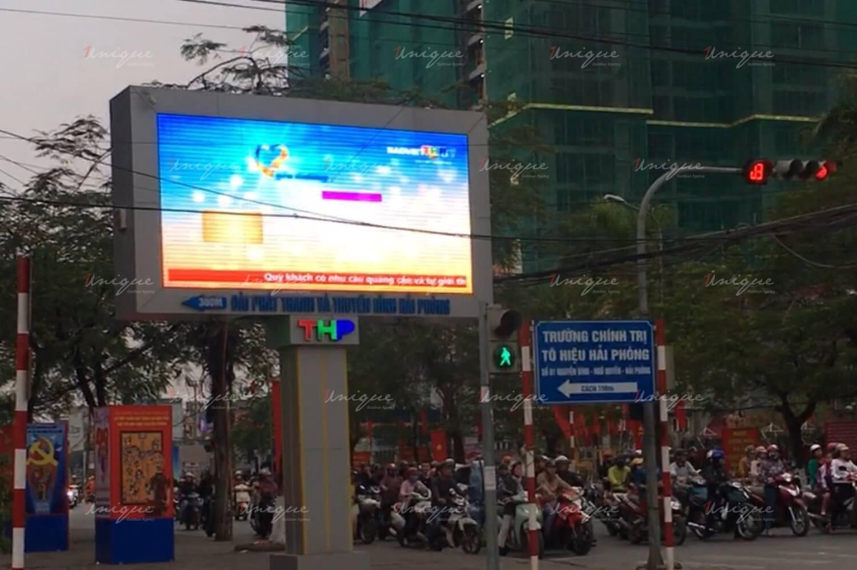 màn hình Led quảng cáo ngoài trời tại Hải Phòng