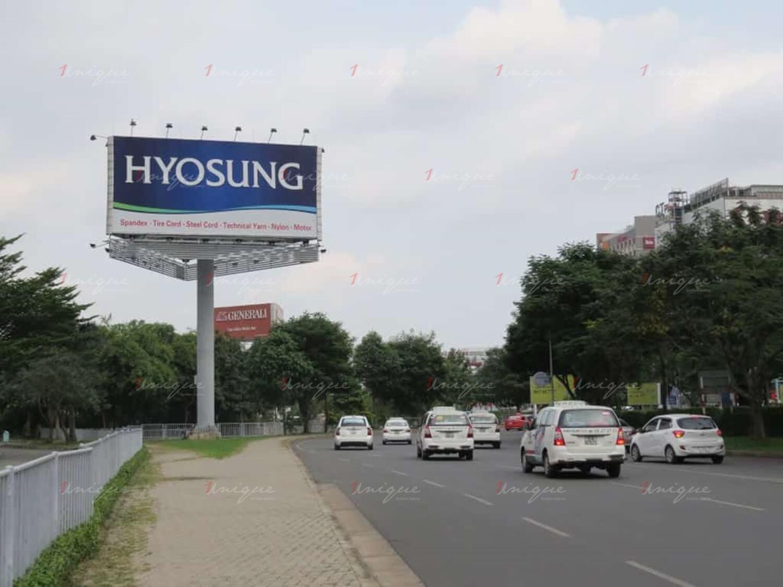 quảng cáo billboard tại sân bay