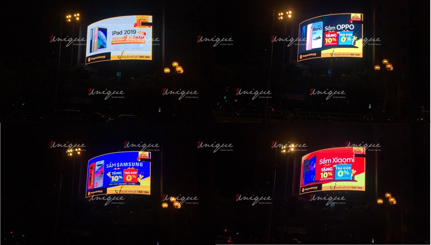Chiến dịch quảng cáo màn hình Led ngoài trời của Thế Giới Di Động
