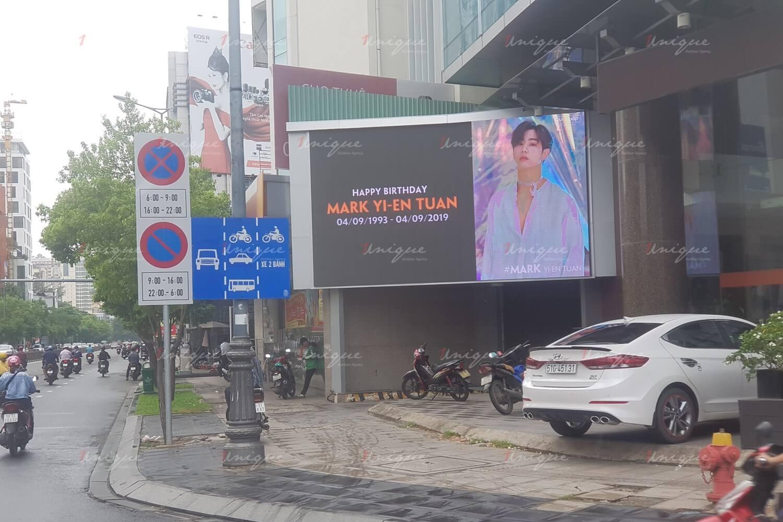 Quảng cáo màn hình LED cho thần tượng