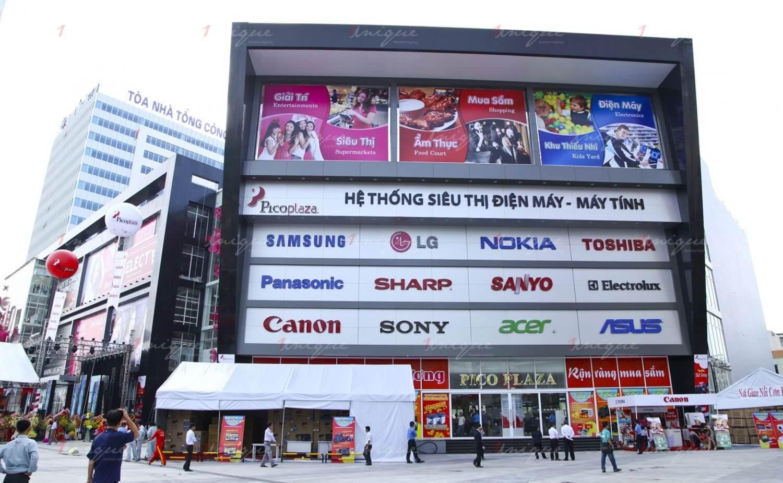 quảng cáo pano billboard siêu thị