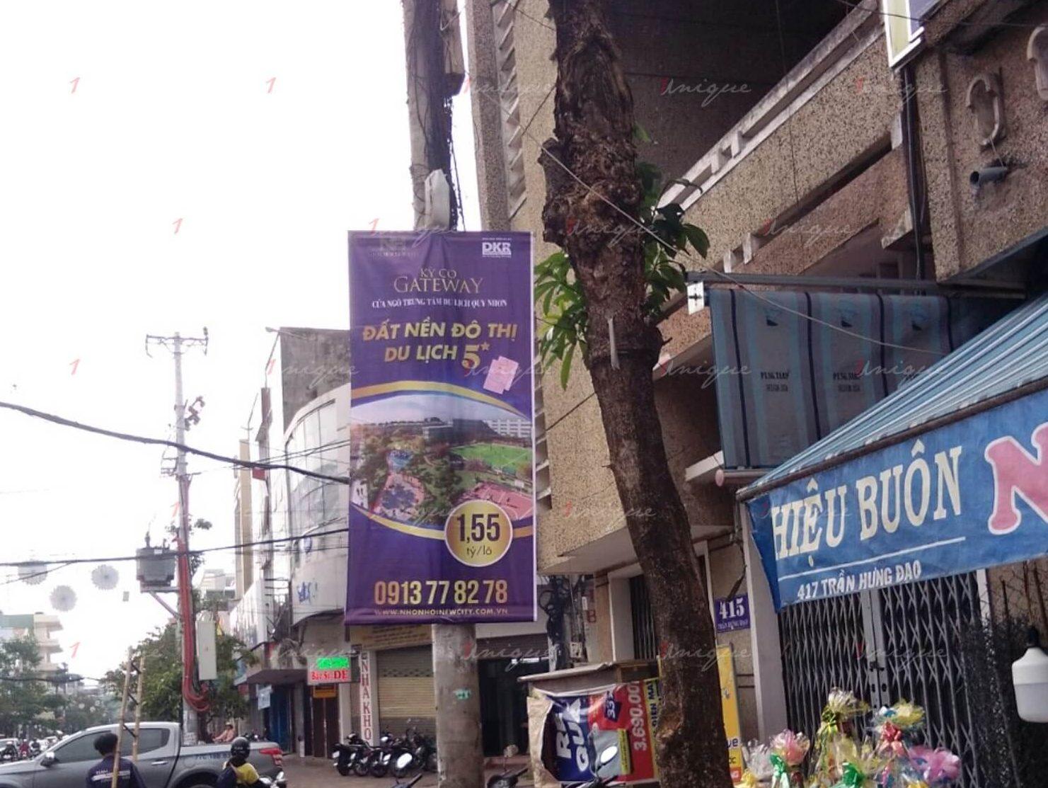 Báo giá quảng cáo treo banner, phướn ngoài trời