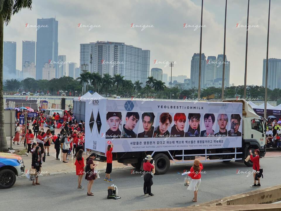 Chiến dịch Roadshow chào mừng EXO-SC