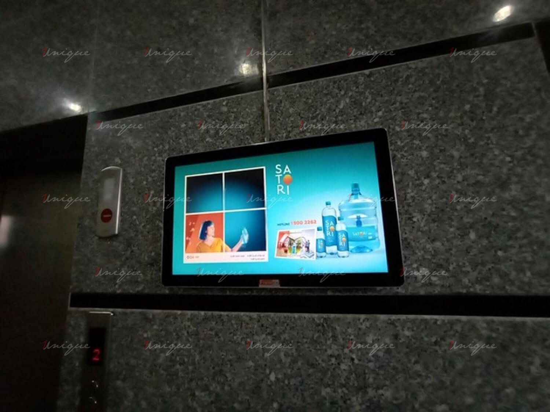 satori quảng cáo trên màn hình lcd