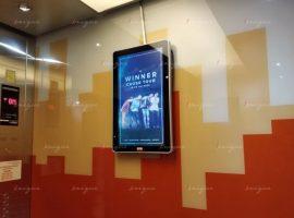 Quảng cáo màn hình Lcd cho cross tour của Winner