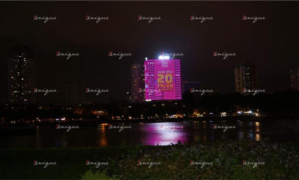 quảng cáo led building tnr tower 54 nguyễn chí thanh