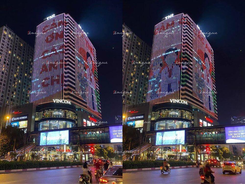 quanảng cáo led building tnr tower 54 nguyễn chí thanh