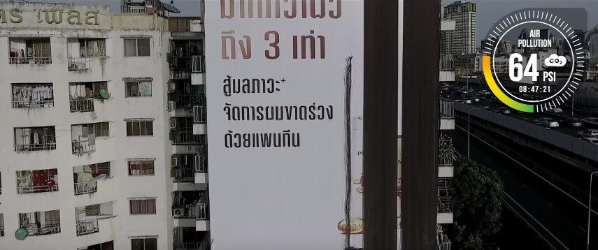 """Billboard """"rụng tóc"""" của Pantene Thái Lan"""