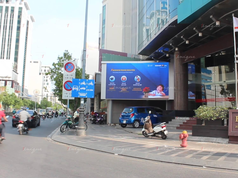 Bảo Việt quảng cáo màn Led tại số 1 Thái Hà và 217 Nam Kỳ Khởi Nghĩa