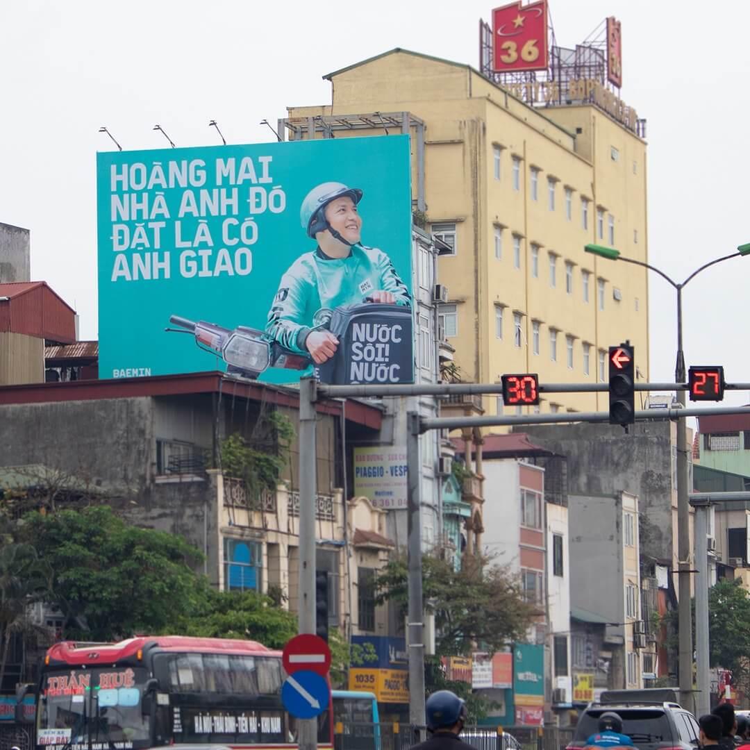 thông điệp quảng cáo ngoài trời theo ngữ cảnh