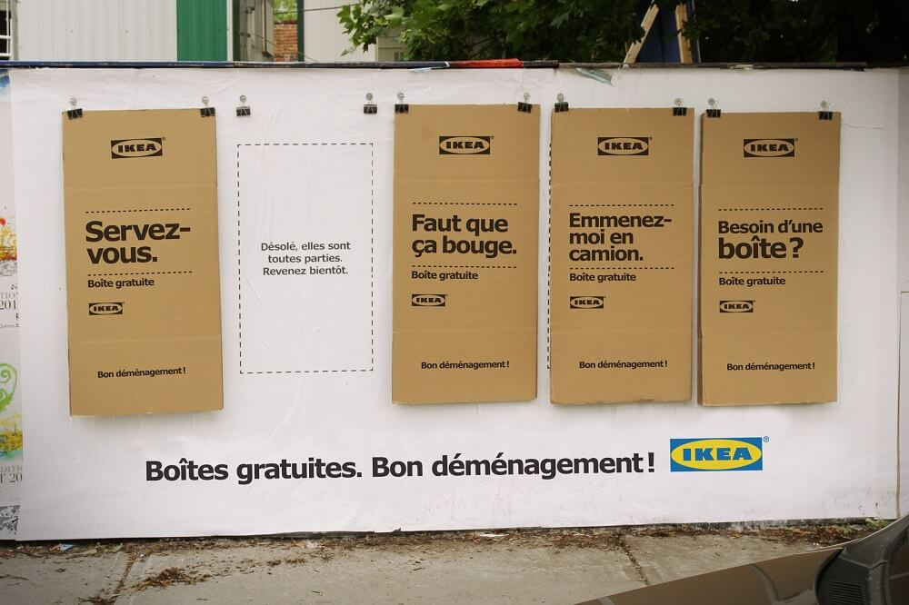 chiến dịch Moving Day của IKEA