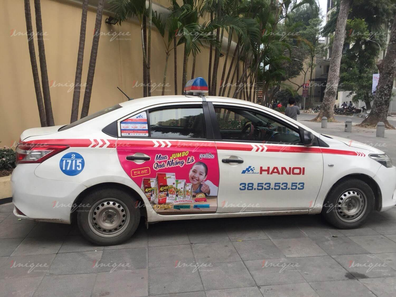 Chiêm ngưỡng những mẫu quảng cáo trên taxi cực sáng tạo của Koreno