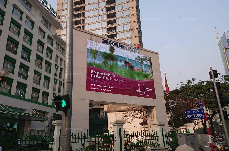 Màn hình Led quảng cáo ngoài trời tại 216 Trần Duy Hưng