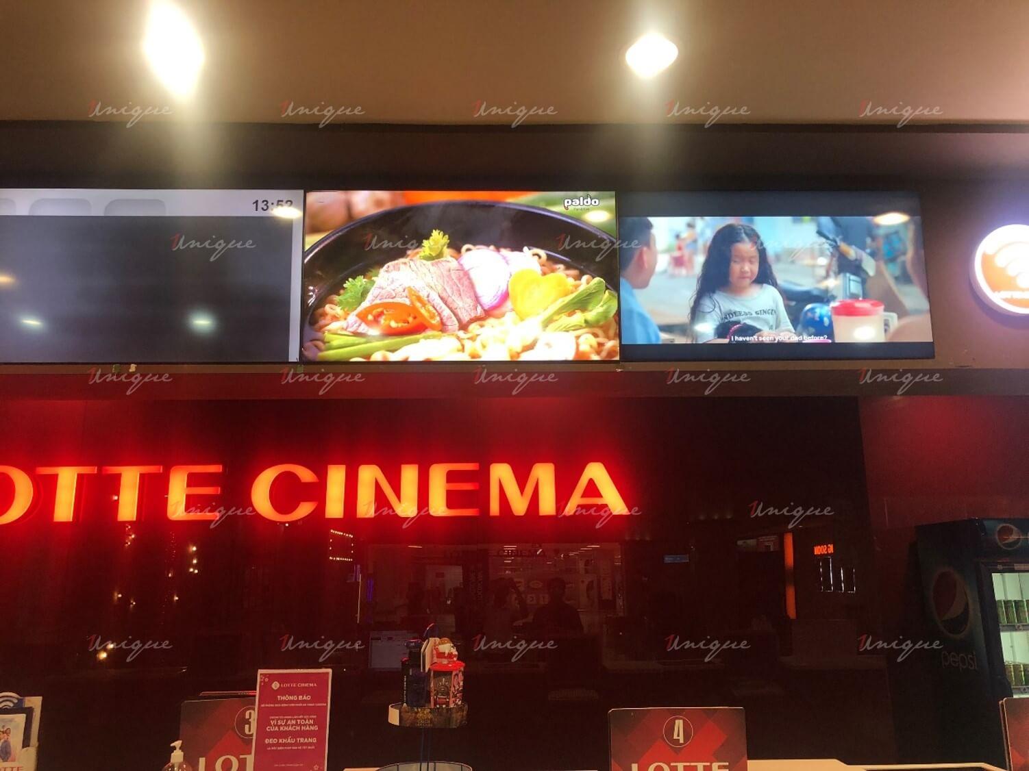 koreno quảng cáo tại rạp chiếu phim