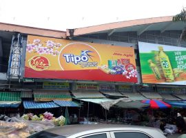 quảng cáo biển chợ