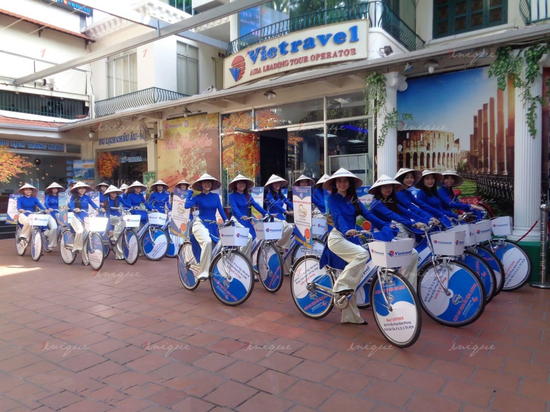 quảng cáo roadshow xe đạp