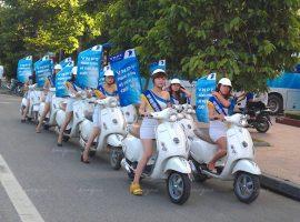 quảng cáo roadshow xe máy