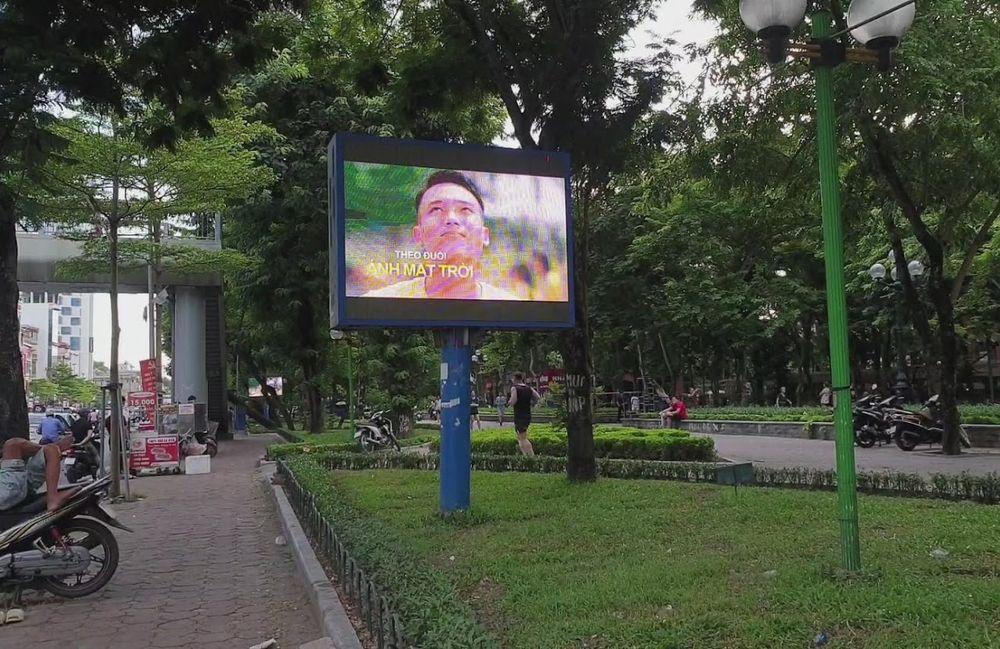 Màn hình Led quảng cáo trên đường Tây Sơn