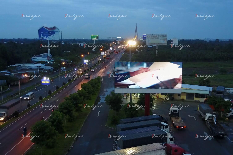 Màn hình Led quảng cáo tại Trạm dừng chân cầu Cần Thơ bờ Cần Thơ