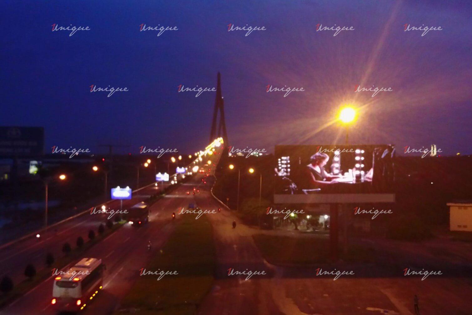 Màn hình Led quảng cáo tại Trạm dừng chân cầu Cần Thơ bờ Vĩnh Long
