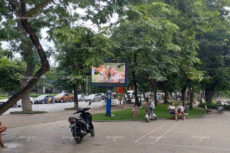 màn hình Led quảng cáo ngoài trời tại Hồ Thiền Quang