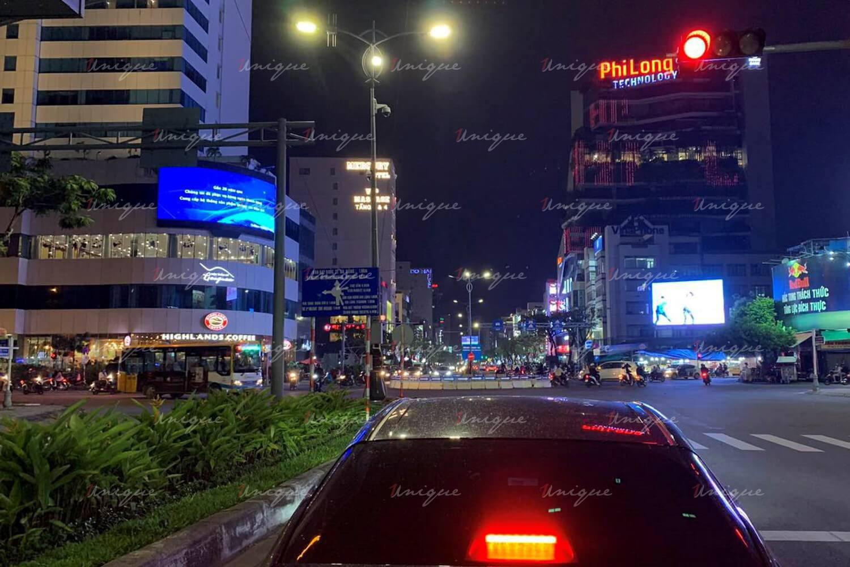 Màn hình Led quảng cáo tại 115 Nguyễn Văn Linh, vòng xoay ngã 6 Đà Nẵng