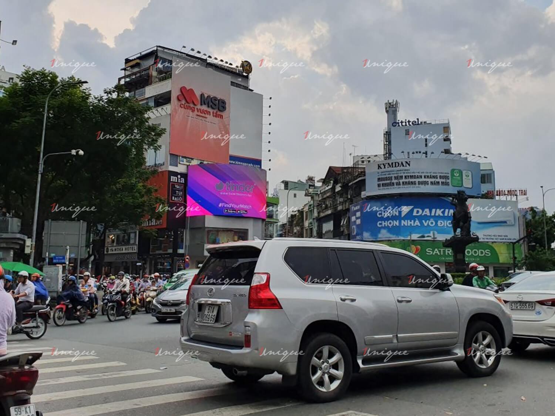 màn hình Led số 2 Nguyễn Trãi - vòng xoay Phù Đổng