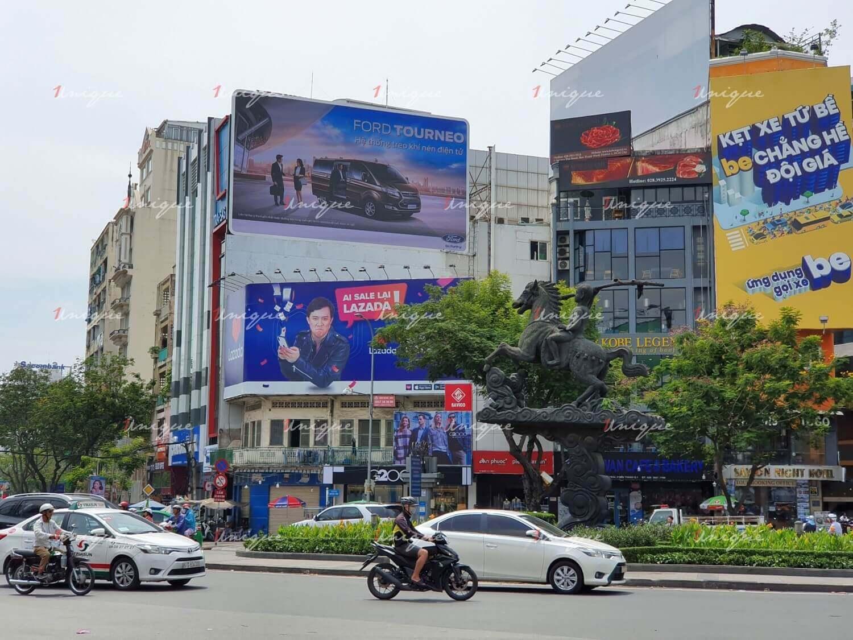 Màn hình Led quảng cáo tại 34 Nguyễn Thị Nghĩa, vòng xoay Phù Đổng, Quận 1, Hồ Chí Minh