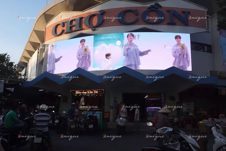 Màn hình Led quảng cáo ngoài trời tại Chợ Cồn Đà Nẵng