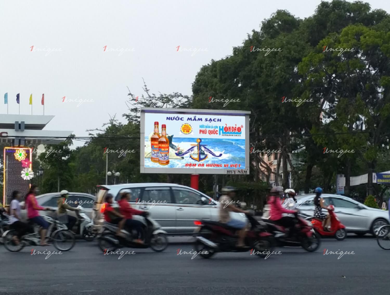 Màn hình led quảng cáo tại Công viên Lưu Hữu Phước - Cần Thơ