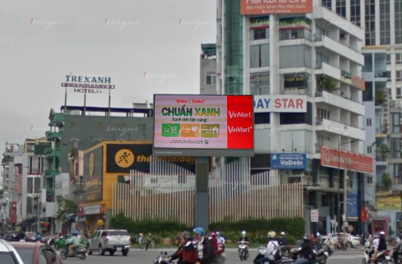 màn hình led quảng cáo tại ngã 6 vincom, huế