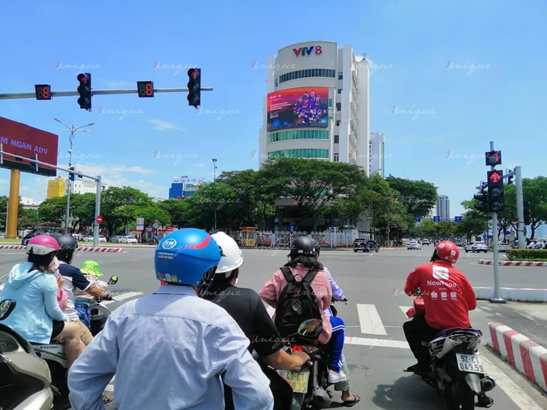 Màn hình Led quảng cáo ngoài trời tại nút giao Cầu Rồng – Nguyễn Văn Linh, Đà Nẵng