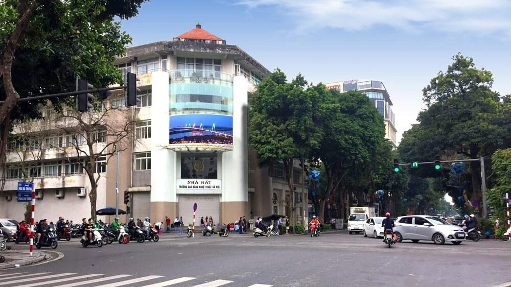 Màn hình Led quảng cáo tại nút giao Hai Bà Trưng - Phan Chu Trinh