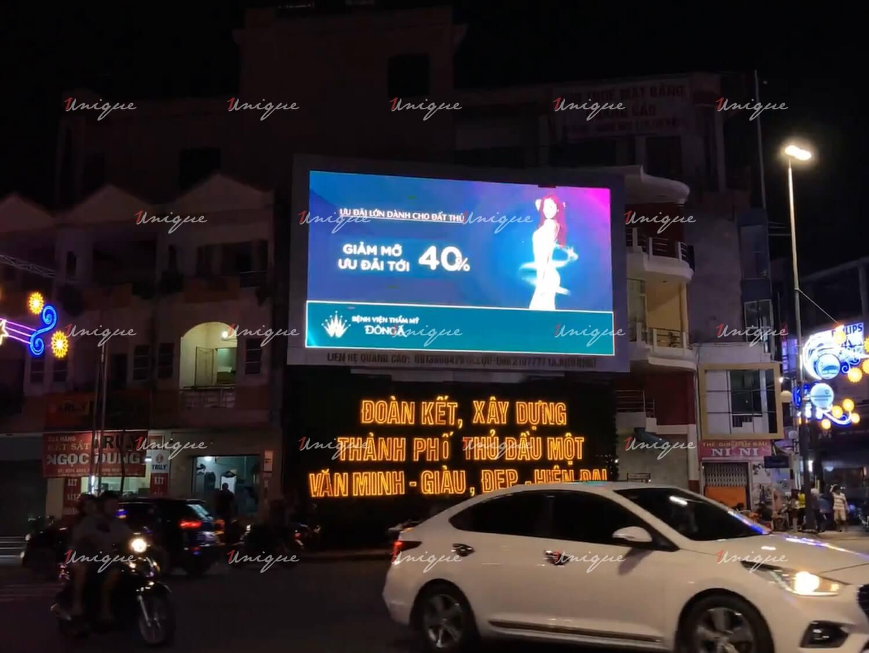 màn hình led quảng cáo tại thủ dầu một bình dương