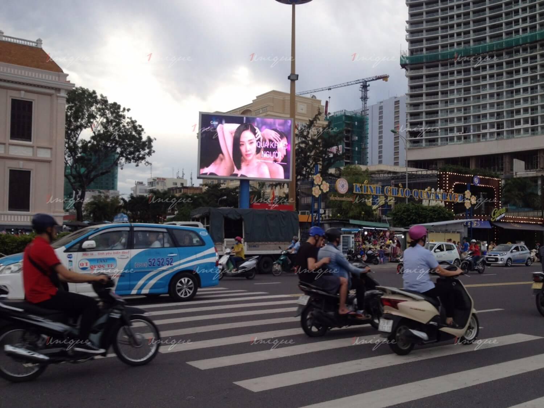Màn Led quảng cáo tại Quảng trường 2 tháng 4, Trần Phú, TP.Nha Trang