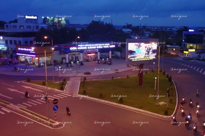 Màn hình Led quảng cáo tại ngã ba Mũi Tàu - KCN Trà Nóc - Cần Thơ