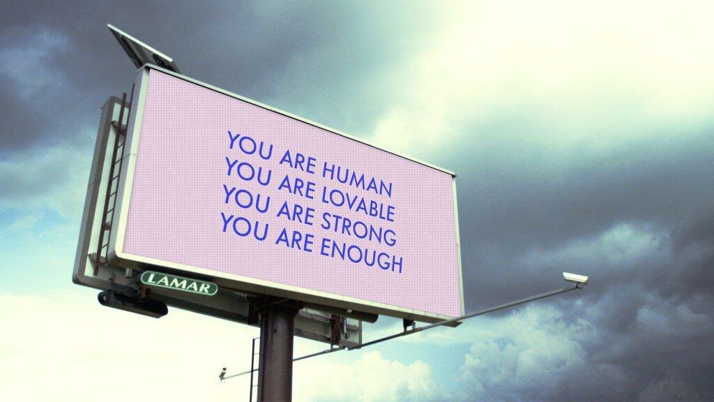 quảng cáo ngoài trời phòng chống tự tử