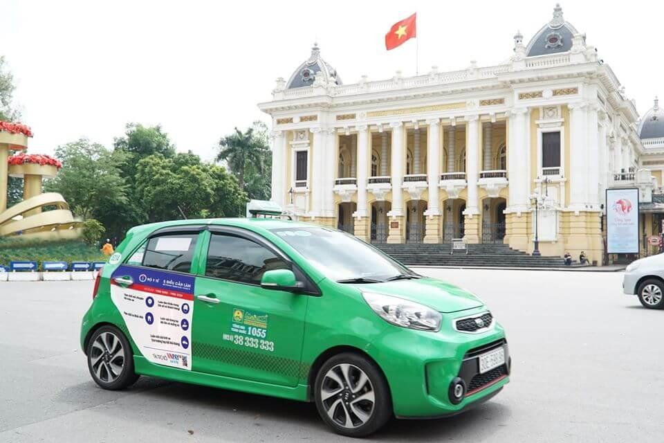 Mai Linh tuyên truyền thông điệp phòng chống COVID-19 trên 6000 xe taxi