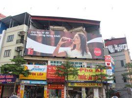 quảng cáo tại tòa nhà