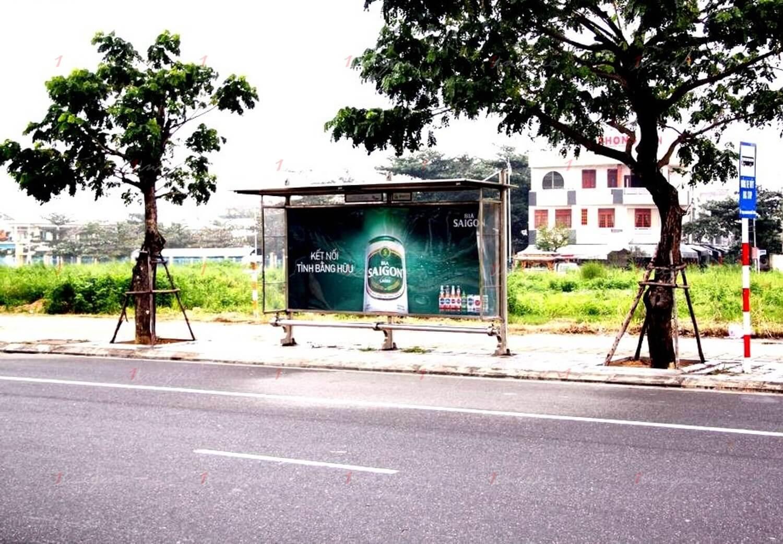 các hình thức quảng cáo nhà chờ xe buýt